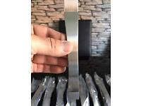 Job lot kitchen/ wardrobe stainless steel door handles
