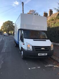 NATIONWIDE MAN & ANY VAN LUTON TRUCK HIRE HOUSE REMOVALS OFFICE MOVERS PIANO COURIER RUBBISH MOVING