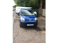 1.4 hdi peugeot bipper/cd player/2owners/mot till dec/v5/ ready for work/3rd seat in back