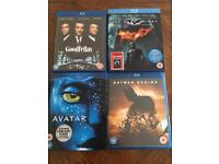 4 Blu Rays for Sale £15