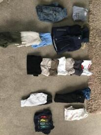 Assortment of baby boy clothes 0-3 months, all from either Next, River island or Jasper Conran.