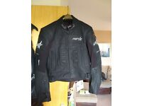 Ladies motorbike leathers like new