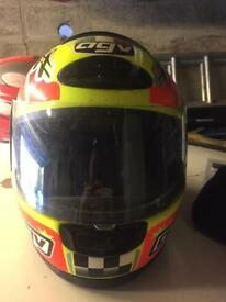 Agv kids crash helmet