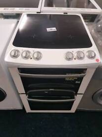 Zanussi 55cm electric cooker with warranty and fast delivery
