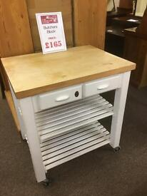 Butchers block * free furniture delivery*