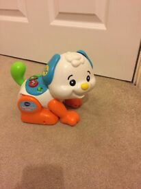 Vtech shake and move puppy.
