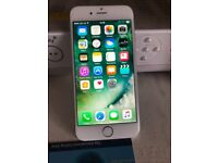 IPhone 6 white 64gb unlocked with receipt