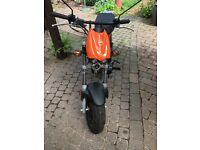 Tomos 45 racing 50cc 2 stroke moped - perfect run around for a new driver 2016 plate