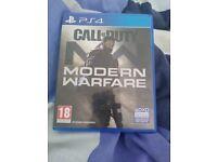 Call of duty modern warfare PS4 game