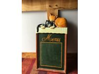 Antique Menu Board