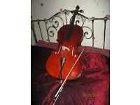 ANTONI 1/2 cello, bow and case
