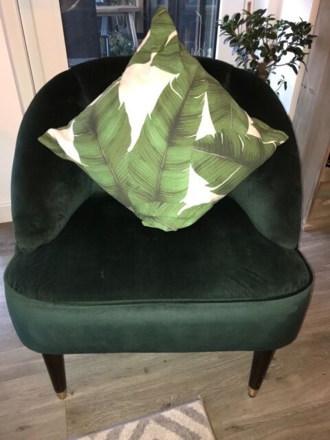 Incredible Margot Accent Chair In Forest Green From Made 170 Rrp 400 In Lewisham London Gumtree Caraccident5 Cool Chair Designs And Ideas Caraccident5Info