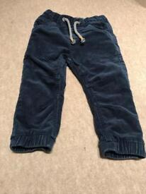 NEXT 18-24 months baby boy trousers
