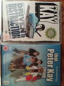 2 Peter Kay DVD's, perfect condition