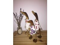 TLC wooden hand decorated emma bridgewater ducks