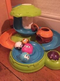 Chicco ball game. Activity center fantasy island. Musical toy