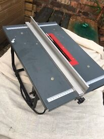 Hobby table saw