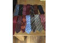 14 x men's ties
