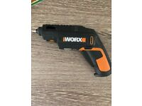Ex display worx WX254.4 4v power cordless screwdriver