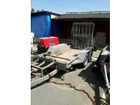Indespension twin axle trailer