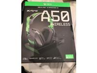 Astro A50 Wireless gaming headset BRAND NEW