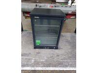 Gamko single door beer fridge black under counter cooler restaurant