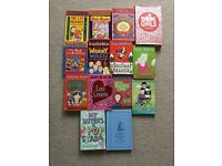 Selection of books including Jacqueline Wilson