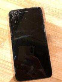 IPhone 7plus Black 128gb