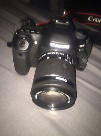 Canon 80d camera fresh