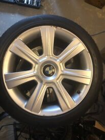 """BMW 3 Series 17"""" Alloys and Tyres - IDEAL Winter Set"""