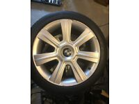 "BMW 3 Series 17"" Alloys and Tyres - IDEAL Winter Set"