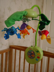 Fisher Price Rainforest Peek-a-boo mobile