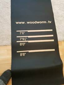 Woodworm darts mat brand new