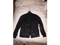 Diesel 'Black Gold' Leather Jacket