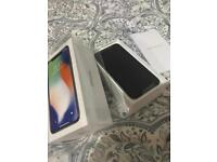 iPhone X 256GB EE Silver BRAND NEW