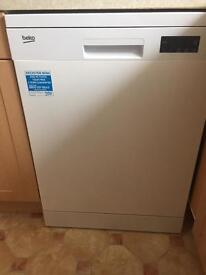 Beko 600mm dishwasher nearly new