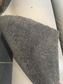 brand new grey carpet