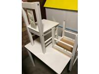 Kids Table and two chairs £35