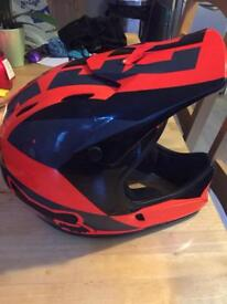 Full face Rox rampage helmet