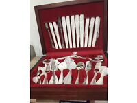 Sheffield Silver Plated 44 Piece Cutlery - Never used and still in original wrapping