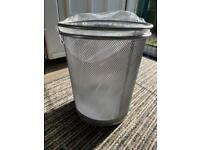Brand new x2 silver mesh bins