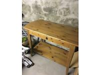 IKEA console table with drawer