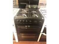 60CM BLACK HOTPOINT GAS COOKER