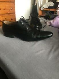 Ben Sherman Shoes Black Smart size 10 9