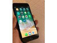 iPhone 7 plus matt black 128gb like brand new unlocked spotless mint condition selling as got upgrad