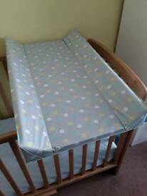 Cot top changing mat from Mothercare