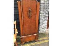 TALL BOY/CABINET/ Small wardrobe FREE DELIVERY VINTAGE GENUINE 🇬🇧