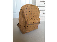 BRAND NEW MCM BACKPACK * LARGE SIZE * NEVER USED