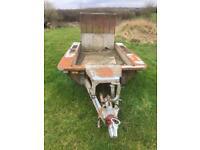 Ifor Williams plant mini digger trailer