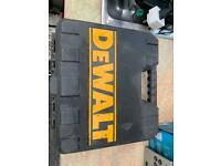 Dewalt xr impact gun 10.8v 3/8 drive with x4 battery's carry case charger